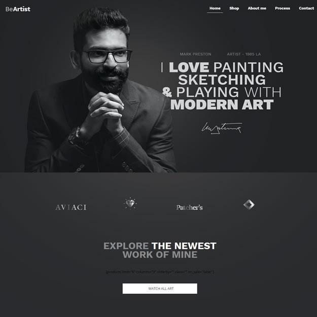 Criar Site Artes
