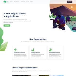 Criar Site Agricultura HTML