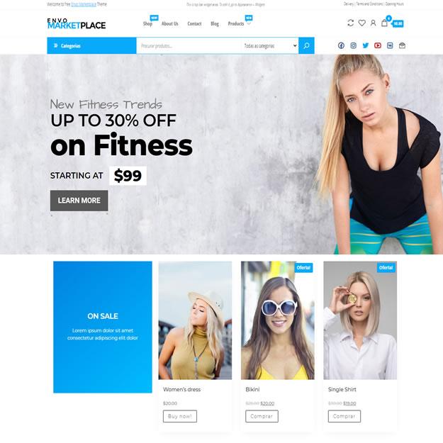 Loja Virtual Marketplace Wordpress