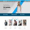 Loja Virtual Roupas WordPress Responsivo 1403 S