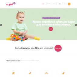 Site Escola Creche Criança