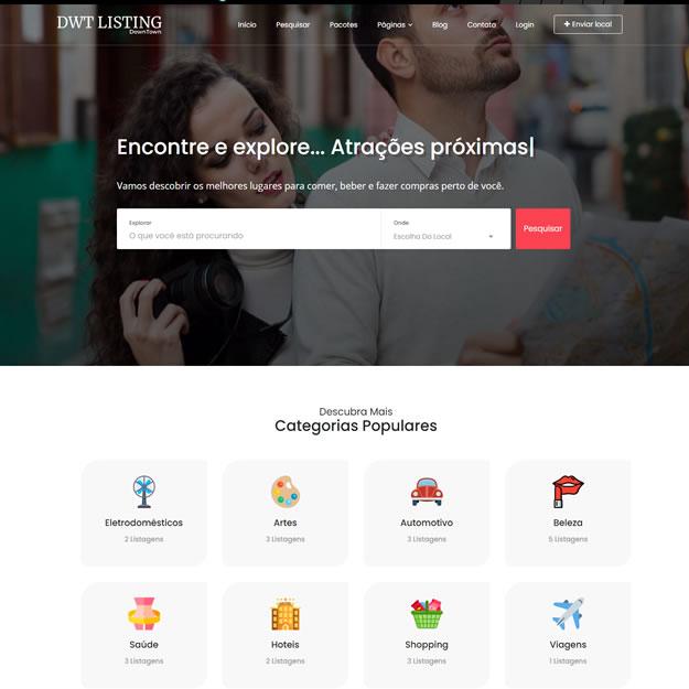 Site Guia Comercial Wordpress