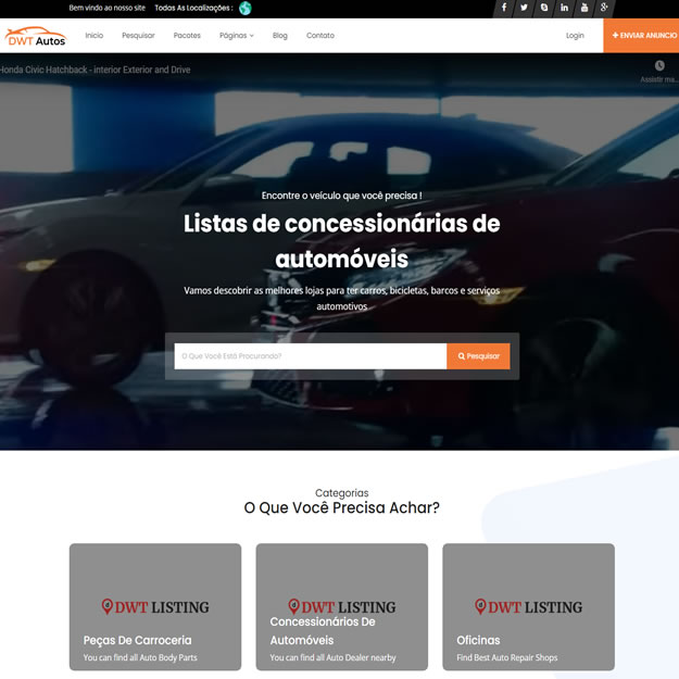 Guia Comercial Serviços Automotivos
