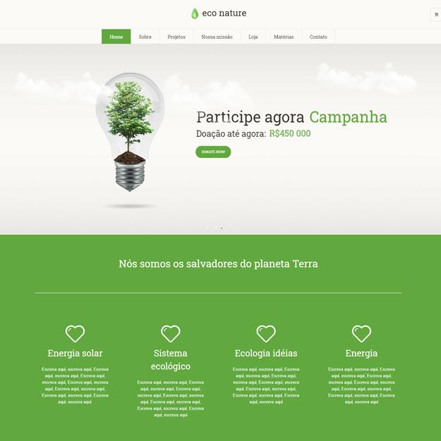 Criar Site Ong Wordpress