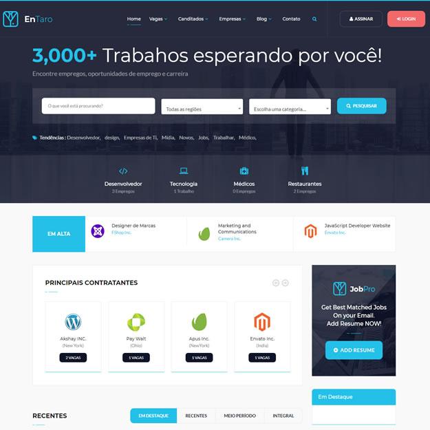 Site Vaga de Emprego Wordpress