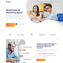 Criar Site Agência de Marketing