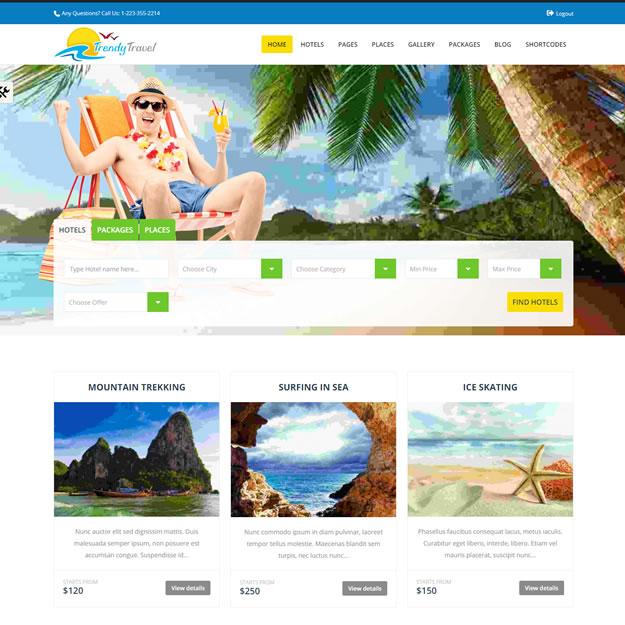 Criar Site Turismo Viagem Wordpress 1419