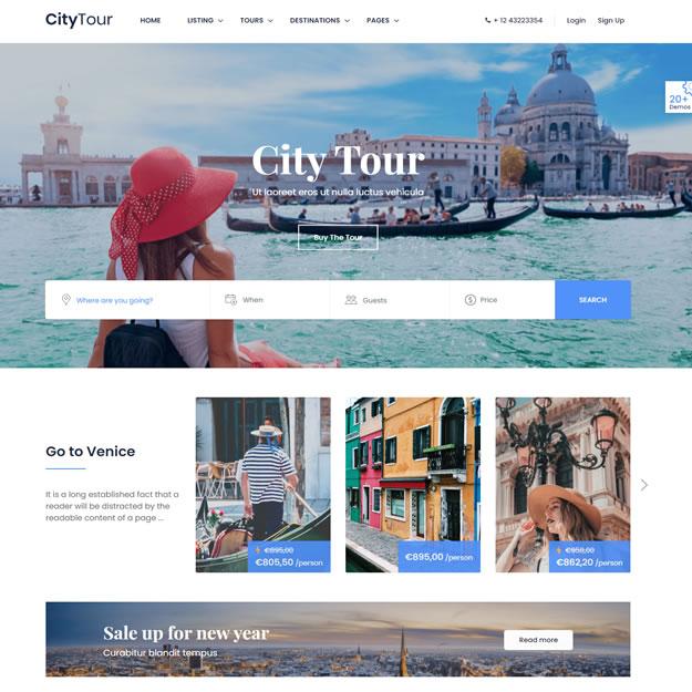 Criar Site Turismo Viagem 1420