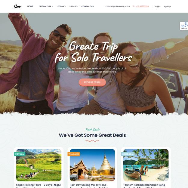 Criar Site Turismo Viagem 1422