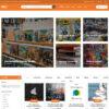 Criar Site Leilão Livros WordPress Responsivo 1429 S