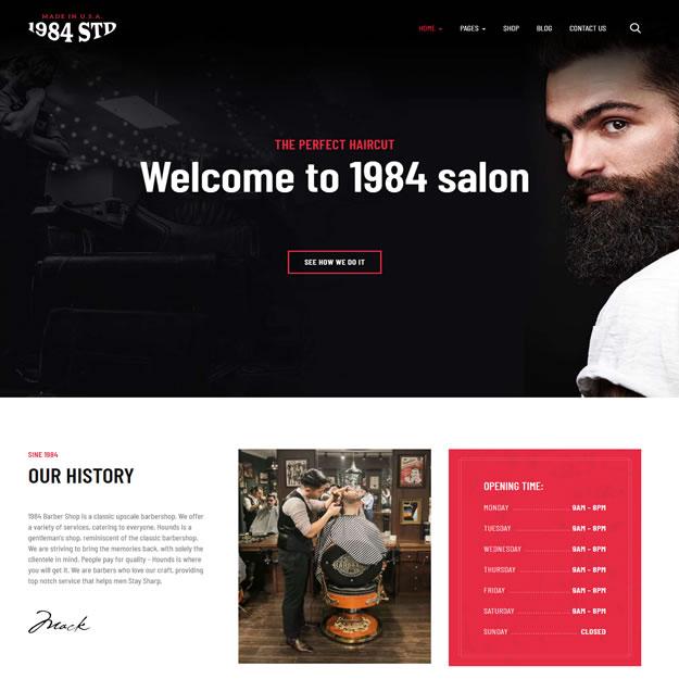 Criar Site Barbearia Joomla