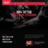 Criar Site Tatuagem Tatoo Joomla Responsivo 1433 S