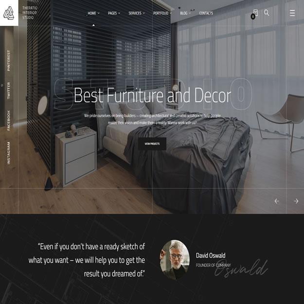 Criar Site Arquiteto Design