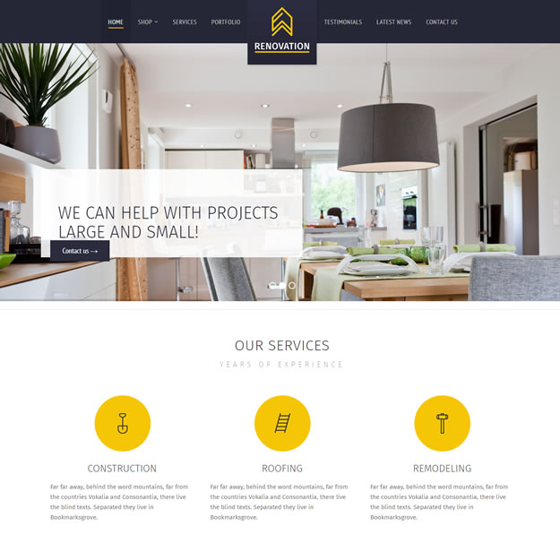 Criar Site Construtora Wordpress