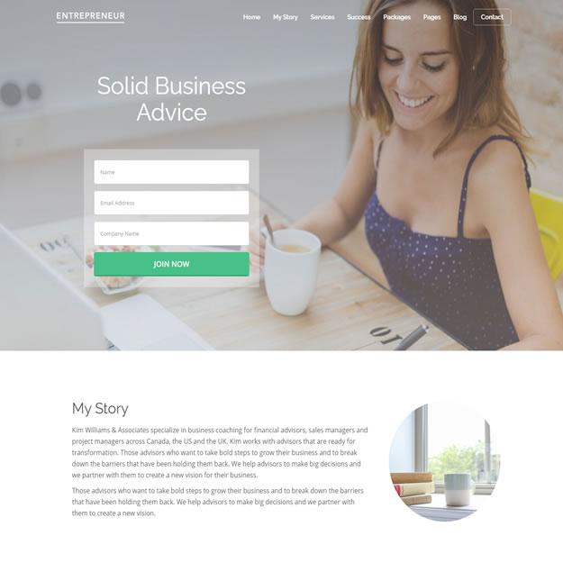 Criar Site Consultoria Wordpress