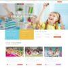 Criar Site Escola Infantil WordPress Responsivo 1447 S