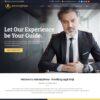 Criar Site Advogado Advocacia WordPress Responsivo 1453 S