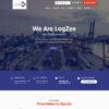 Criar Site Logística Transportadora WordPress Responsivo 1460 S