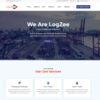 Criar Site Logística Transportadora WordPress Responsivo 1462 S