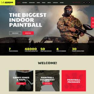 Criar Site Paintball Wordpress