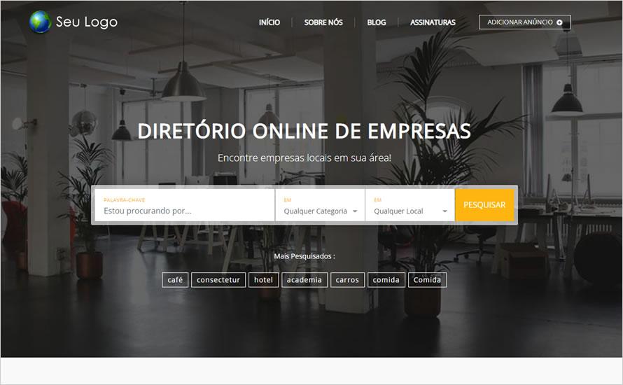 Criar Site Guia Comercial WordPress 1068 S Site Pronto