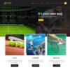 Criar Site Esportes Personal WordPress Responsivo 1467 S