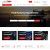Loja Virtual Auto Peças WordPress Responsivo 1475