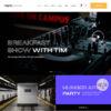 Criar Site Rádio Online WordPress Responsivo 1489 S