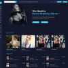 Criar Site Rádio Online WordPress Responsivo 1492 S
