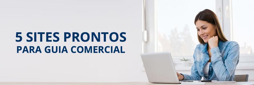 5 Sites Prontos Para Guia Comercial